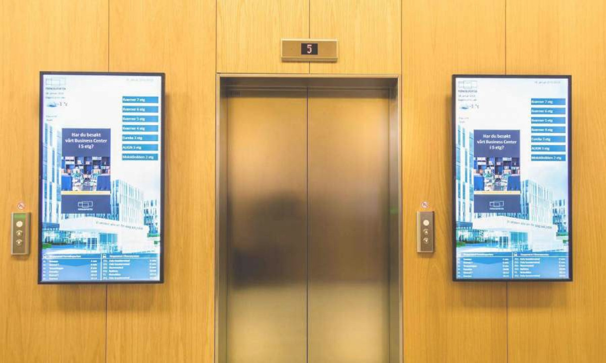 Digital signage provides strong internal communication
