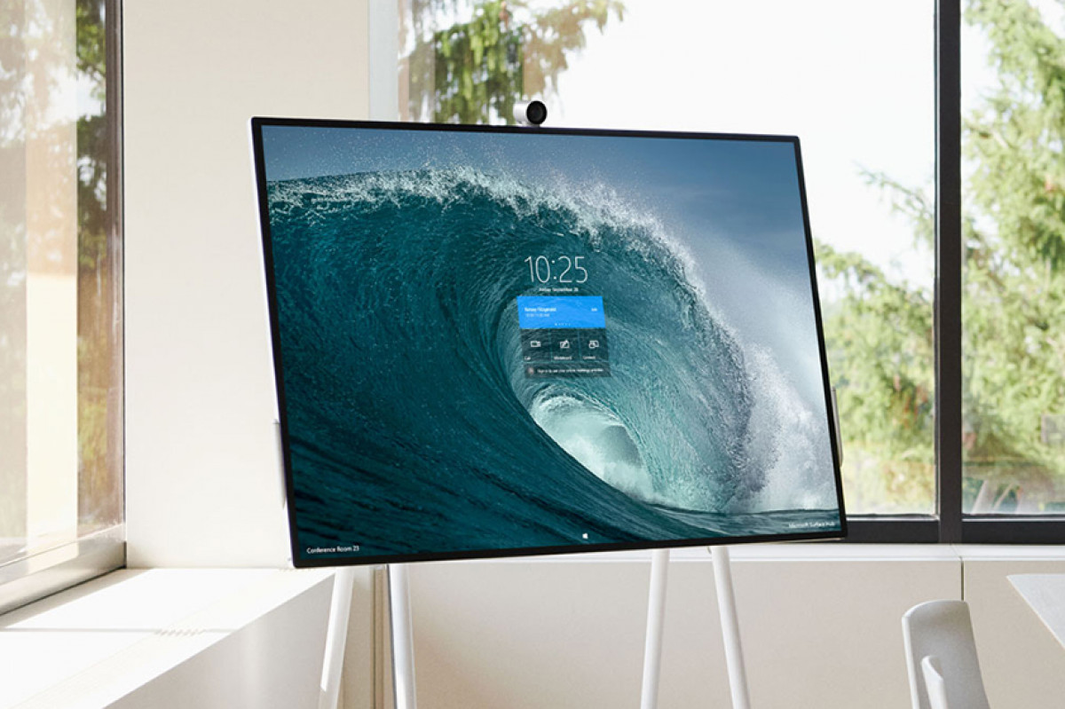 Have you seen Surface Hub 2S?