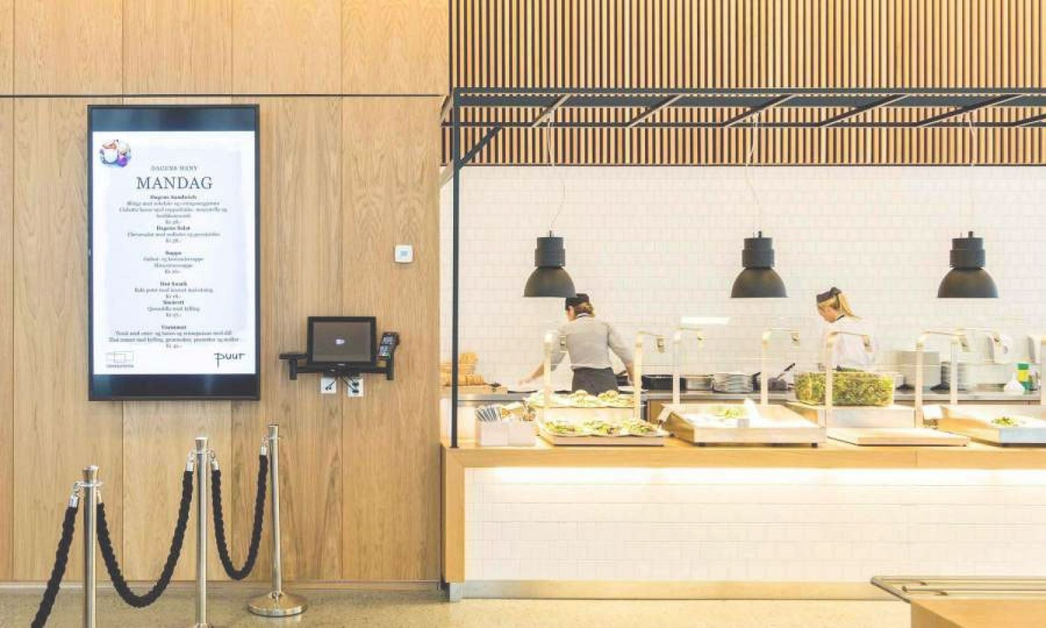 Be creative with digital signage