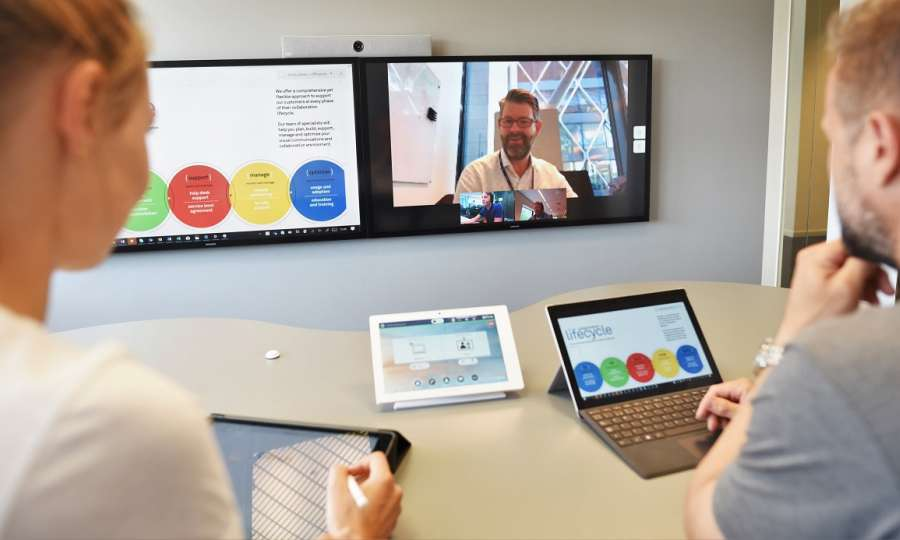 Kinly Cloud | Cloud Collaboration Solutions for Video Meetings